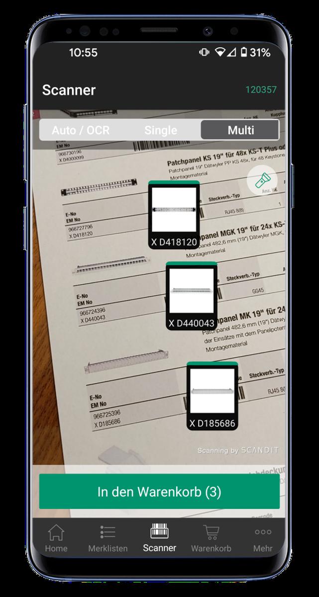 Scandit Barcode-Scanner