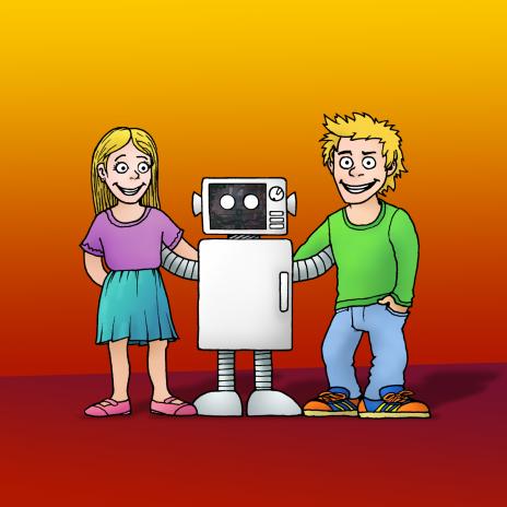 Roboter Beni und seine Freunde